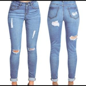 Pants - Brand New Distressed Skinny Jeans